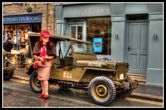 IMG_0015 (Scotchjohnnie) Tags: pickeringwarweekend warweekends nostalgiaevents nostalgia periodcostume costume pickering streetphotography streetscene canon canoneos canon7dmkii canonef24105mmf4lisusm scotchjohnnie photoshop female jeep militaryvehicle vintage veteran pickeringwarweekend2018 hdr