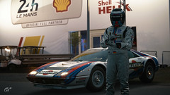 Ferrari 512 BB (Matze H.) Tags: ferrari 512 bb martini lemans le mans gt sport gran turismo race track evening dark lights 24h livery paint job classic car