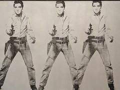 """Triple Elvis"", Andy Warhol (1963) (Joey Hinton) Tags: sanfrancisco california unitedstates musuem modern art andy warhol triple elvis google pixel2 andriod smartphone cellphone cameraphone phone"