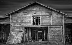 Secret Ghost Town (JDS Fine Art Photography) Tags: decay ghosttown ruins rundown spooky haunted dark cinematic bw monochrome creepy