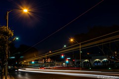 The Streets Of Laguna - Night Lights_6119 (www.karltonhuberphotography.com) Tags: 2018 action cartrails dusk earlymorning hwy1 headlights horizontalimage karltonhuber laguna lagunabeach light morninglight motion nightphotography pch pacificcoasthighway runninglights shadows southerncalifornia storefronts streetlights streetphotography taillights trafficlights truck