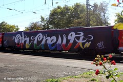 OH Crew (rebecca2909) Tags: wholecar trains train graffiti graff ohcrew