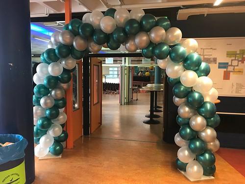Ballonboog 6m Diplomering Geslaagd Scale Rietvelden Spijkenisse