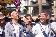 Carrying Mikoshi (runslikethewind83) Tags: men festival matsuri japan asakusa sanja man pentax event friend tokyo asia