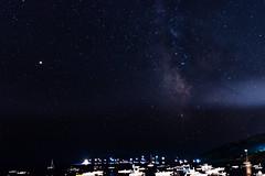 the Night Escalet (nicolas-7878) Tags: extérieur étoile sttropez star nuit nikon nikond5500 bateau nature ciel sky voielactée astronomie astronomy france var ramatuelle photography pose mer merméditerranée méditerranée water light lumière horizon nikonpassion nocturne landscape estrellas nightphotography space astrophotography summer galaxy nightscape