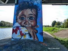 Graffiti, 7-6-2018 (kees.stoof) Tags: graffiti amsterdam oost amsterdamse brug