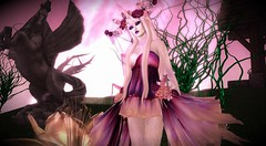 Whimsical (SeverityS) Tags: irrisistible shop fantasy roleplay unicorn gown dress babydoll mesh horn women clothes outfit fancy costume sl secondlife second life halloween carnival