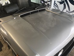 Bonnet (andrew edgar .......) Tags: range rover silver v8 blacktown nsw australia