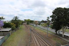 Railway at Doomben, Brisbane (philip.mallis) Tags: brisbane doomben doombenrailwaystation trainstation railwaystation railway hamilton