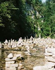 Zgornje Radovina, Slovenia (charlie 13N) Tags: zgornjeradovina slovenia mountain canyon rocks river summer holidays