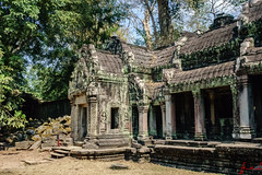 """Ta Prohm Temple aka the """"Tomb Raider Temple"""", Siem Reap, Cambodia (February 2018) (H_E_L) Tags: hel cambodia siemreap angkor khmer unesco unescoworldheritage architecture asia southeastasia temple buddhist buddhism bayon travel taprohmtemple taprohm tombraider tombraidertemple"""