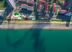 Batumi (free3yourmind) Tags: batumi georgia drone quadcopter xiaomi mi view above down aerial buildings blacksea crystal water green resort