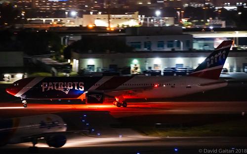 New England Patriots | Boeing 767-323 | N36NE