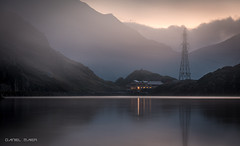 Foggy morning in the mountains (Dani Maier) Tags: guttannen bern schweiz ch fog alps switzerland lake mountainlake