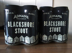 Blackshore:    273/365 (amandabhslater) Tags: blackshore stout beer cans adnams suffolk 2018aphotographicdiary beachhuts