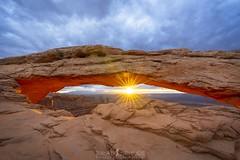 The eye of the Beholder (ihikesandiego) Tags: moab utah sunrise mesaarch