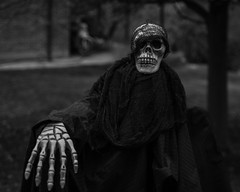 IMGP3671 (agianelo) Tags: halloween ghoul decoration scary figure monochrome bw bn bllackandwhite
