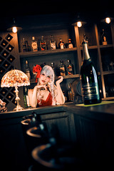 Remilia Scarlet - Barmaid (bdrc) Tags: a7iii fullframe remilia scarlet touhou project cosplay girl portrait sotplugs studio indoor flash strobe theme manual prime legacy tsuyusei sei people bar pub nikkor nikon 50mm f2 ai dress sony sonyalpha sonyimages sonyuniverse asdgraphy malaysiaphotographer mirrorless