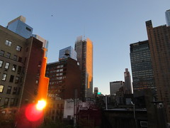 2018 October Cloudless Evening Sky NYC 2452 (Brechtbug) Tags: 2018 october cloudless evening sky nyc virtual clock tower from hells kitchen clinton near times square broadway new york city midtown manhattan 10112018 stormy weather building no hanging cumulonimbus blue cumulus nimbus cloud fall hell s nemo southern view ny1