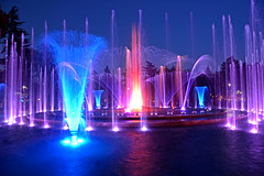 Fountain , Early Evening (misi212) Tags: long exposure fountain margaret island budapest nikon d 7200