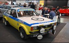 Opel Kadett GT/E Conrero / LU-326463 (baffalie) Tags: auto voiture ancienne vintage classic old car coche retro expo italia sport automobile racing motor show collection club italie verone fiera course race circuit