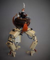 The Tarantula - steampunk tripod (adde51) Tags: adde51 lego moc steampunk ruinsofsanvictoria tripod victorian canon