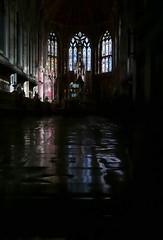 St Cuthbert's Chapel (Mr Ian Lamb 2) Tags: chapel church ushaw college stainedglass leadedwindows building interior light reflection faith worship religion ecclesiastical