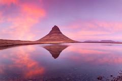 Iceland 2018 (stu1406) Tags: iceland october 2018 snaefellsnes kirkjufell mountain witcheshat sunset lake reflection
