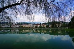 Wonderful scenery with Sapa Lake, Vietnam (Andrey Sulitskiy) Tags: vietnam sapa