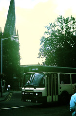 Slide 124-34 (Steve Guess) Tags: chesterfield church spire derbyshire england gb uk leyland national mk2