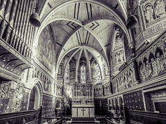 Freeland parish church (Time to try) Tags: freeland monotone hdr lr olympus zoom 14mm church uk parish oxfordshire things