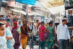 Uttar Pradesh Street Scene (AdamCohn) Tags: adam cohn uttar pradesh india mathura vrindavan holi pilgrim pilgrimage pilgrimmage pilgrims wwwadamcohncom adamcohn uttarpradesh isapurbanger