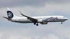 Boeing 737-990(WL) N319AS Alaska Airlines (William Musculus) Tags: seattle tacoma seatac sea ksea airport spotting international burien washington étatsunis us n319as alaska airlines boeing 737990wl 737900wl as asa william musculus