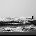 20170101_14k Surfer out among the waves | Rockaway Park, New York City