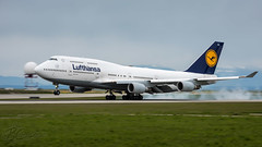 D-ABVR - Lufthansa - Boeing 747-430 (bcavpics) Tags: dabvr lufthansa boeing 747 744 aviation aircraft airliner jumbo jet airplane plane cyvr yvr vancouver britishcolumbia canada bcpics