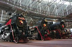 RedMachine (edvard_m) Tags: ussr locomotive train museum steel star revolution saintpetersburg sony