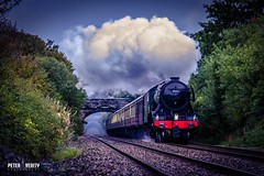 Flying Scotsman (Peter Verity Photography) Tags: flyingscotsman steam anglesey train station railway wales welsh