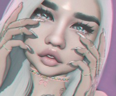 can't stop staring (Jessika BANG) Tags: secondlife second life sl girl cute eyes oceaneyes nova vibing stealthic suicidalunborn reign catwa okkbye emarie
