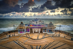 Cromer-Pier- (deanallanphotography) Tags: art adventure anawesomeshot artisticexpression beauty beach blue colors clouds coast coastline day expression elevated flickrsbest fab greatbritishlandscape impressedbeauty landscape light morning ngc natgeo nikon outdoor outdoors ocean photography panorama scenic bluehour travel uk view water pier