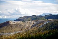 Shirane Root (tez-guitar) Tags: mountain peaks volcano sky clouds pass autumn pentax pentaxart gumma shinshu nagano