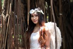 Conceptual Photoshoot - Angel (AllanAnovaPhotos) Tags: angel costume girl woman filipina philippines quezon city quezoncity portrait portraiture sony a65000 sonya6500 sigma 30mm sigma30mm