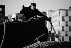 IMG_0266 (www.ilkkajukarainen.fi) Tags: blackandwhite monochrome mustavalkoinen steamship hietalahti ss helsinki suomi finland finlande happy life visit travel travelling satama harbour höyrylaiva regatta köysi rope lepuuttaja