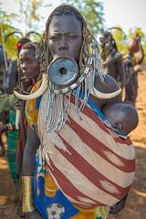 Mursi Village, Omo Valley, Ethiopia (CamelKW) Tags: ethiopia2017 mursivillage omovalley ethiopia