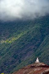 Church / Iglesia (López Pablo) Tags: church green red white cloud plant vegetation elhierro canary islands spain nikon d7200