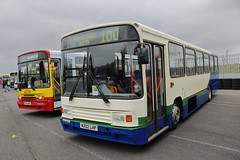 G605 NWA + M202 LHP (ANDY'S UK TRANSPORT PAGE) Tags: buses castledonington showbus2018 preservedbuses