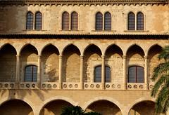 Almudaina (daniel.virella) Tags: almudaina alcázar palacio palace loggia palms shadows arches palmademallorca illesbalears espanya palma mallorcabaleares españa picmonkey