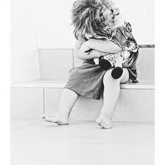 (Bron.Wolff) Tags: naturallight light portrait child girl blackandwhite moment capture toddler monochrome