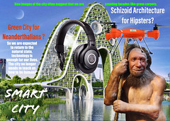 Schizoid architecture for hipsters... Is it rather reassuring for creative humans, artificial intelligence remains superficial? (bernawy hugues kossi huo) Tags: hipster village global relationship nature supernature failure properties urbanplanning urbanism living body being human architect architecture schizoid individuation process