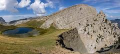 Drakolimni - Dragon Lake (lvalgaerts) Tags: tymfi vikos papigo greece lake drakolimni dragon epirus pindus zagori zagorohoria hellas ελλάδα βίκοσ δρακολίμνη hike trail astraka gamila ploskos aoös gorge cliff