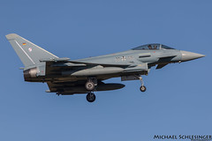 31+45 - Eurofighter EF-2000 Typhoon - German Air Force (MikeSierraPhotography) Tags: air airport country deutschland etnn germany nörvenich spotting town 3145 eurofighter ef2000 typhoon germanairforce